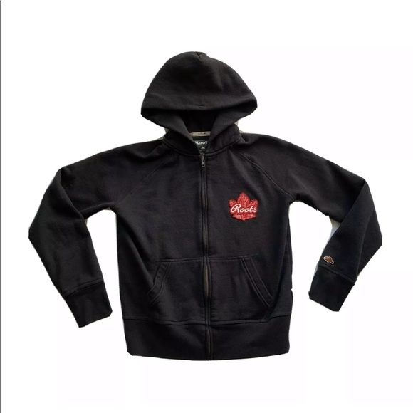 Roots Athletics Canada Full Zip Hoodie Sweater